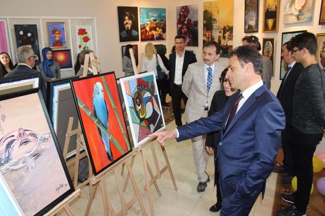 Gebzeli Picasso'lar resim sergisini açtı