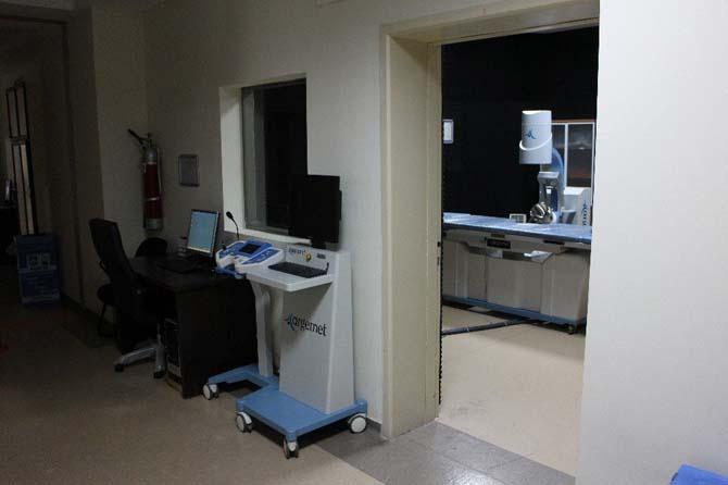 Karaman Devlet Hastanesine taş kırma cihazı alındı