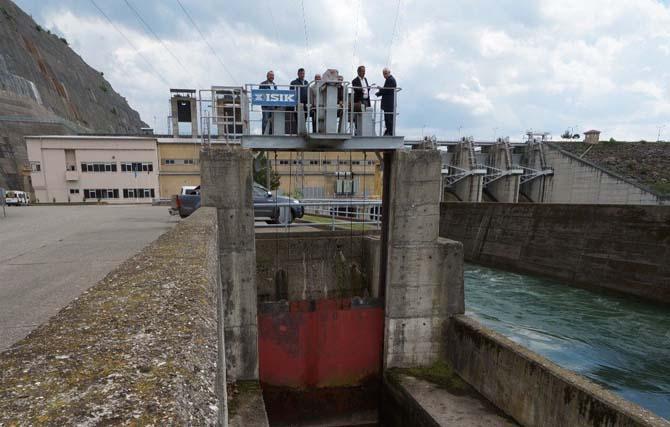 Bafra Ovası'na can suyu salındı