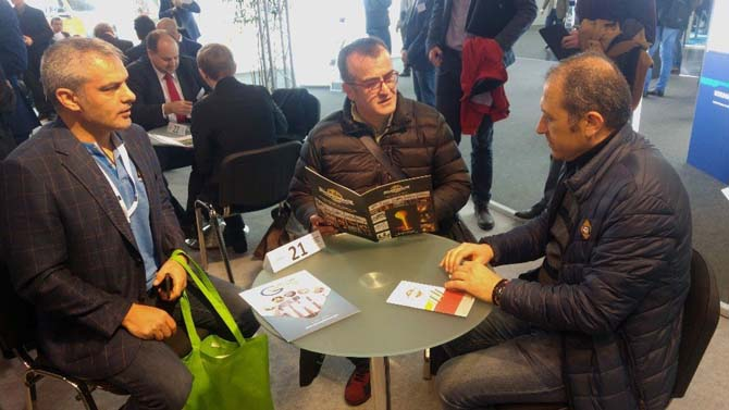 Konyalı sanayiciler Hannover Messe Fuarı'nı ziyaret etti