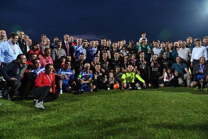 Kaymakamlık Kupası Futbol Turnuvası sona erdi