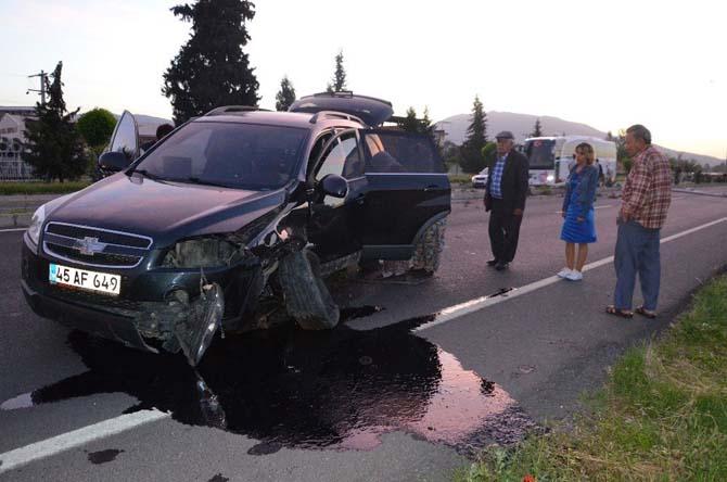 Kaza nedeniyle Nazilli-Denizli karayolu ulaşıma kapandı