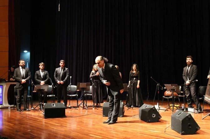 SAÜ'de Uşşak Faslı Konseri