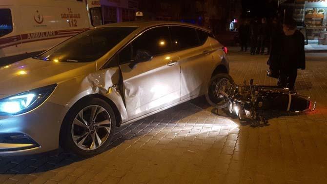 Tavşanlı'da trafik kazası, 1 yaralı
