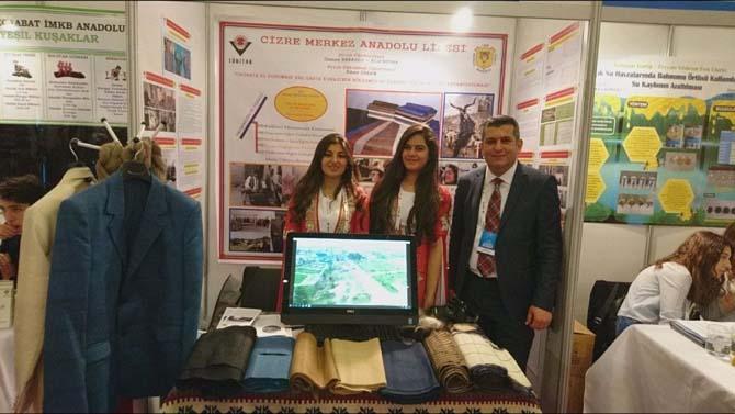 Cizreli öğrencilerin projeleri Türkiye finallerinde