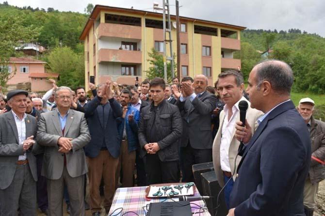 Vali Aktaş, Akkışla Köyünü ziyaret etti