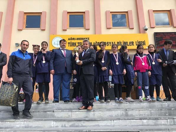 Ağrı'da Spor Şenliği sona erdi