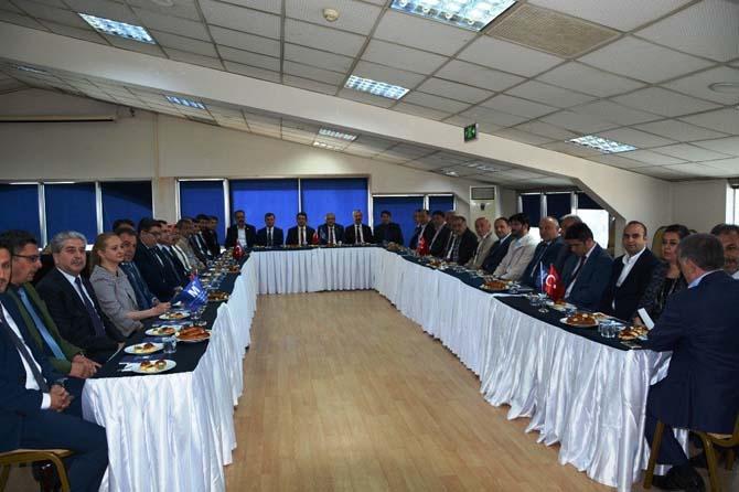 Konya SMMMO ve Vergi Dairesi Başkanlığından istişare toplantısı