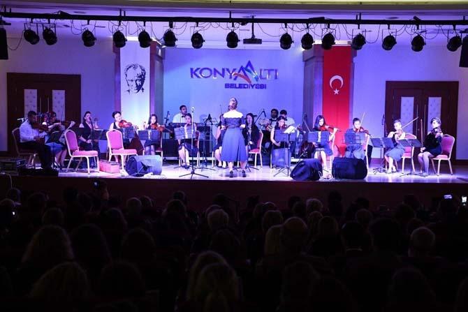 Konyaaltı Orkestrası'ndan konser