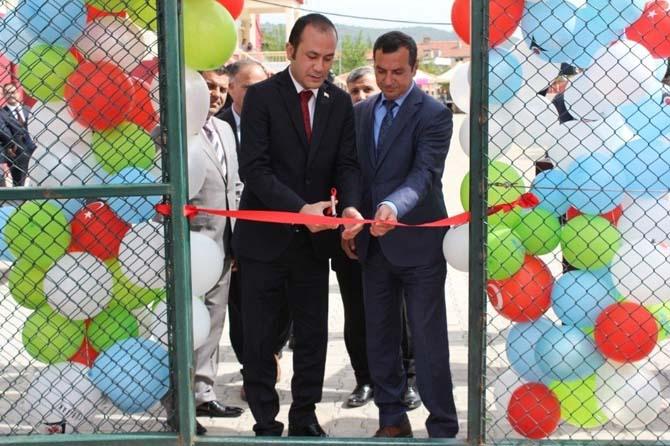 Balya' da Bilim Fuarı açıldı