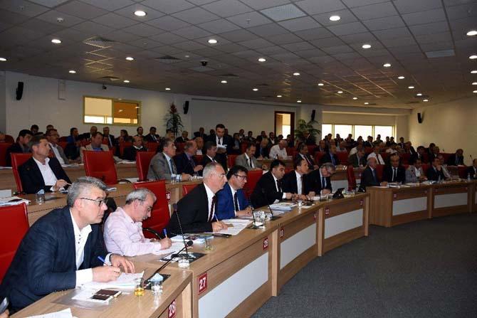 MHP'li Büyükşehir Belediye Meclis üyeleri ASKİ'nin 2016 faaliyetlerini değerlendirdi