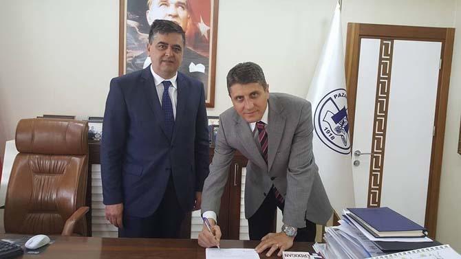 Pazaryeri Belediyesi'nde su faturalarının otomatik ödemeye geçmesi için protokol imzalandı