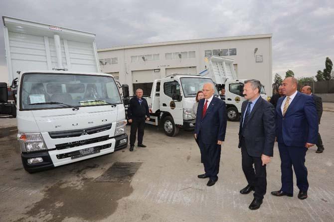 Yenimahalle Belediyesinin araç filosu güçleniyor