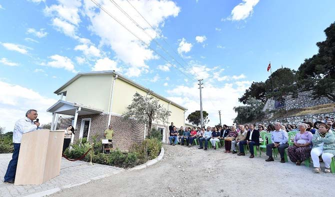 Büyükşehir'den Karaburun'a zeytin okulu