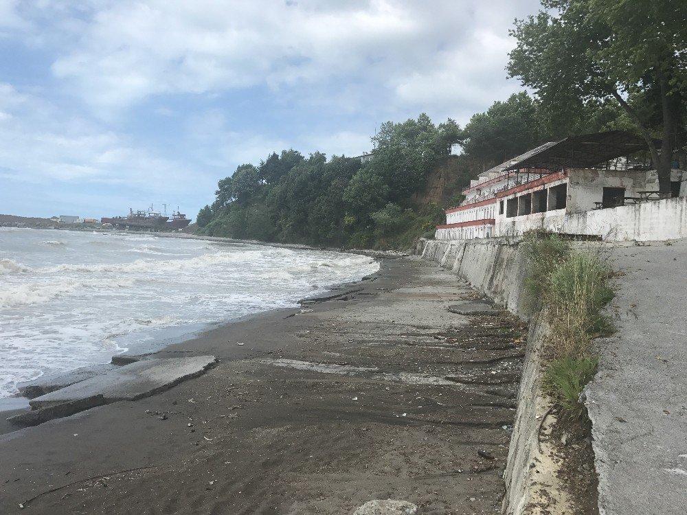 Alaplı plajı yeni sezona hazır