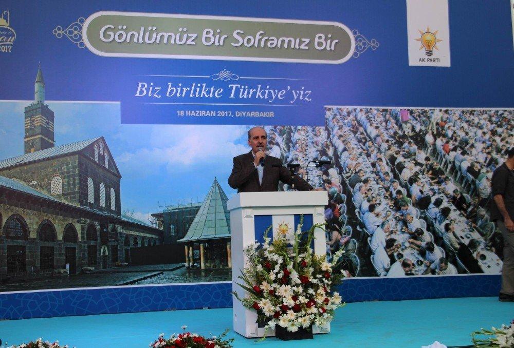 Diyarbakır'da 'Gönlümüz bir, soframız bir' iftarı