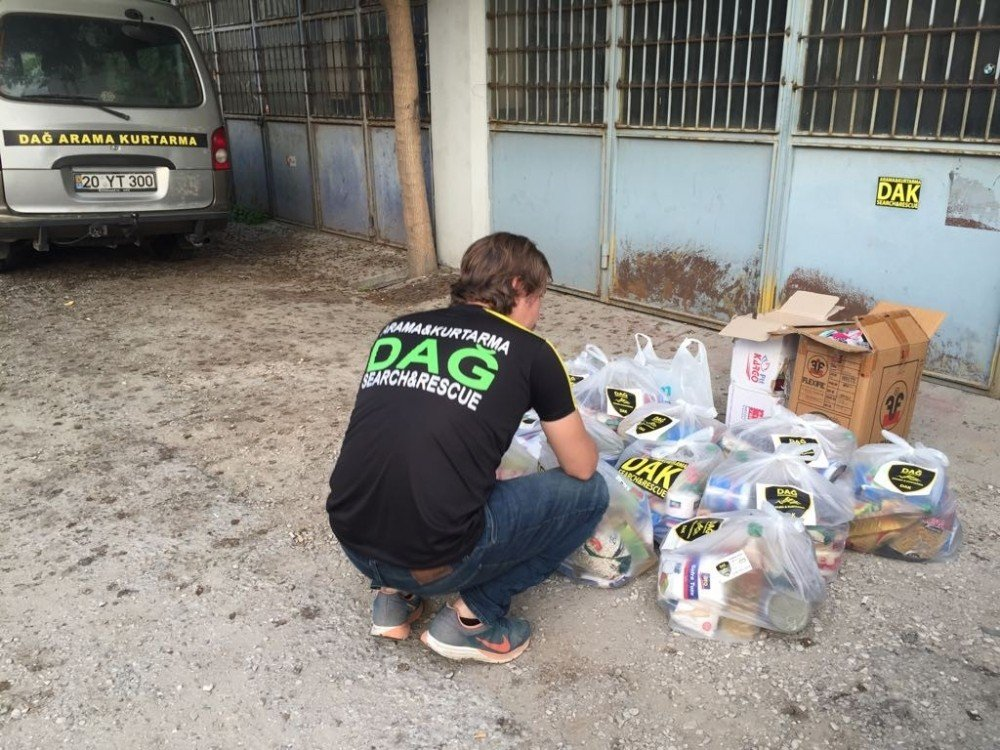 DAK'tan 30 ihtiyaç sahibi aileye yardım