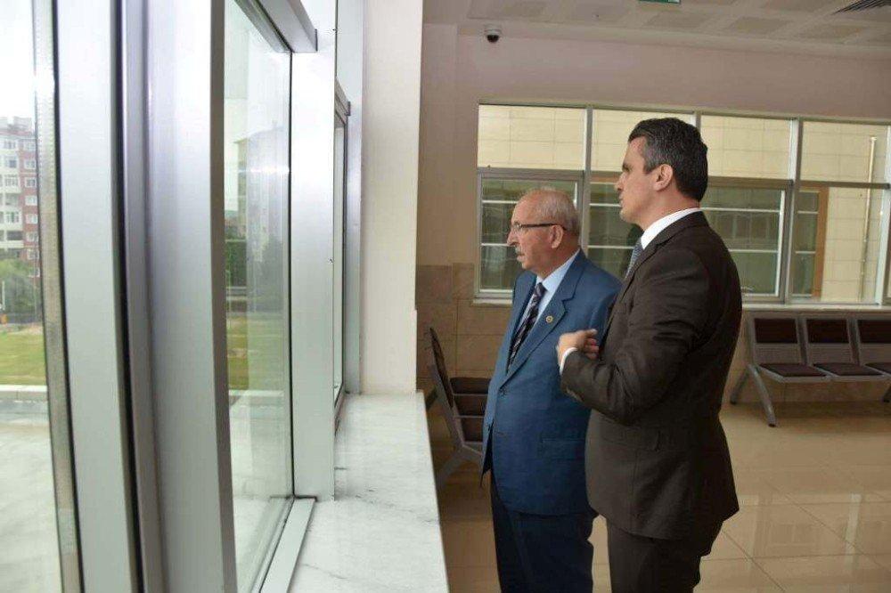 Başkan Albayrak'tan Çorlu Adliye binasını inceledi