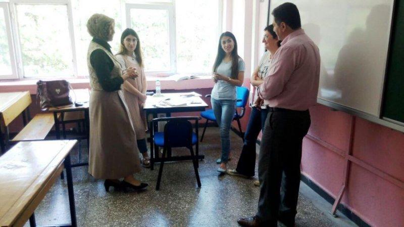 Öğretmenlerin sene sonu mesleki çalışmaları devam ediyor