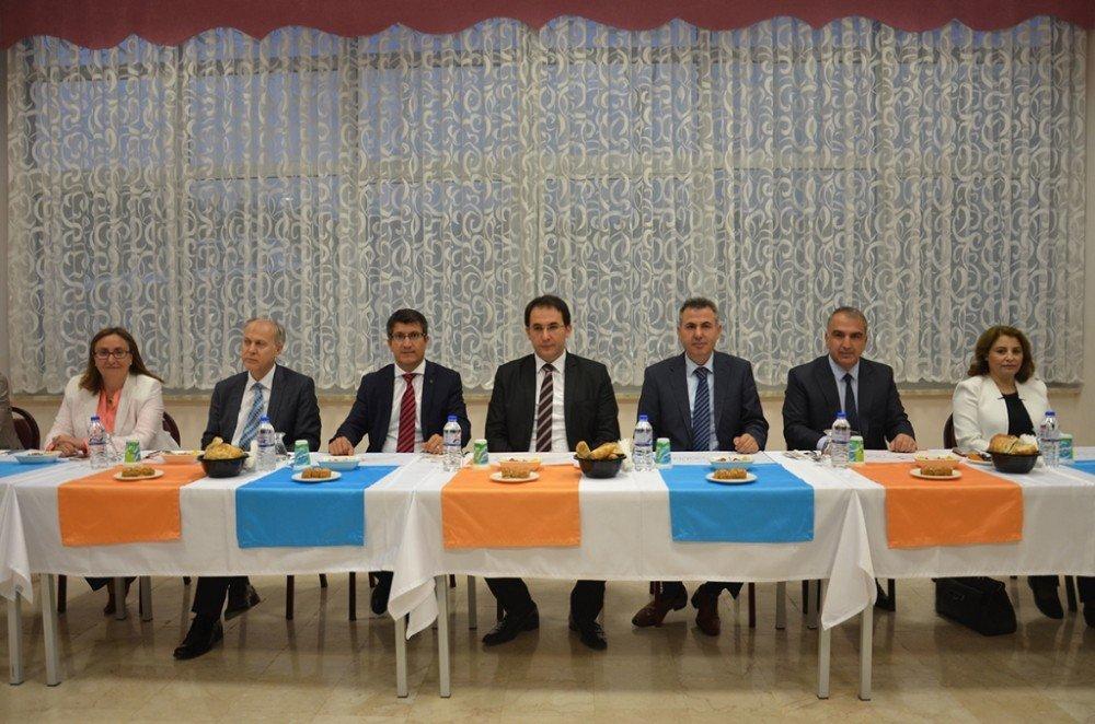 Bilecik Şeyh Edebali Üniversitesi ailesi iftarda buluştu