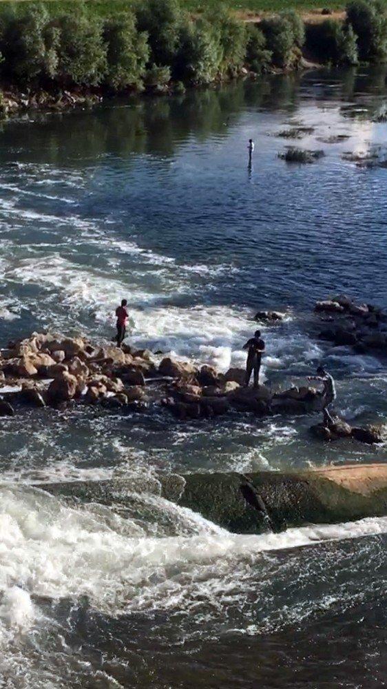 Kaçak balık avını fotoğraflayıp ceza kestiler
