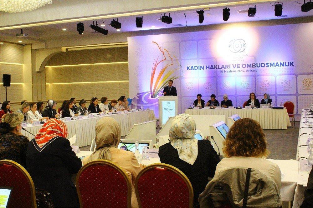 """KDK """"Kadın Hakları ve Ombudsmanlık Çalıştayı"""" düzenledi"""