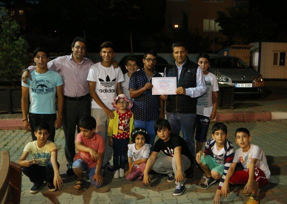 Kartal Belediyesi Başkan Yardımcısı Gülcemal Fidan'dan Gözlemevi Çocuklarına Ziyaret
