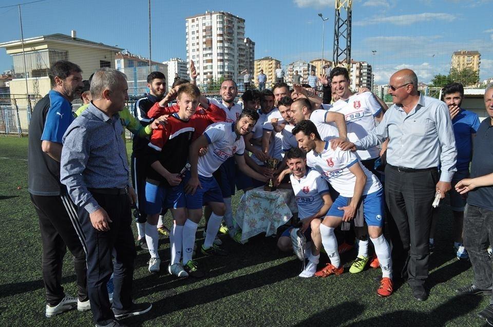 Kayseri'de şampiyonlar belli oldu