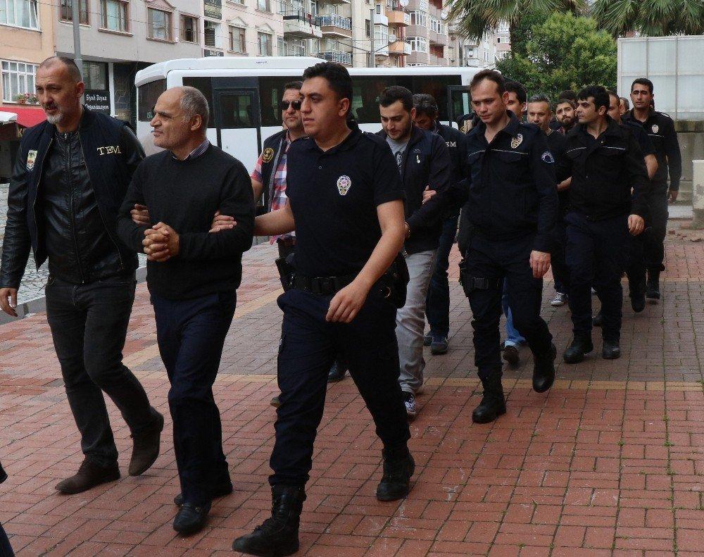 Aralarında TÜBİTAK personelinin de bulunduğu 11 kişi adliyeye sevk edildi