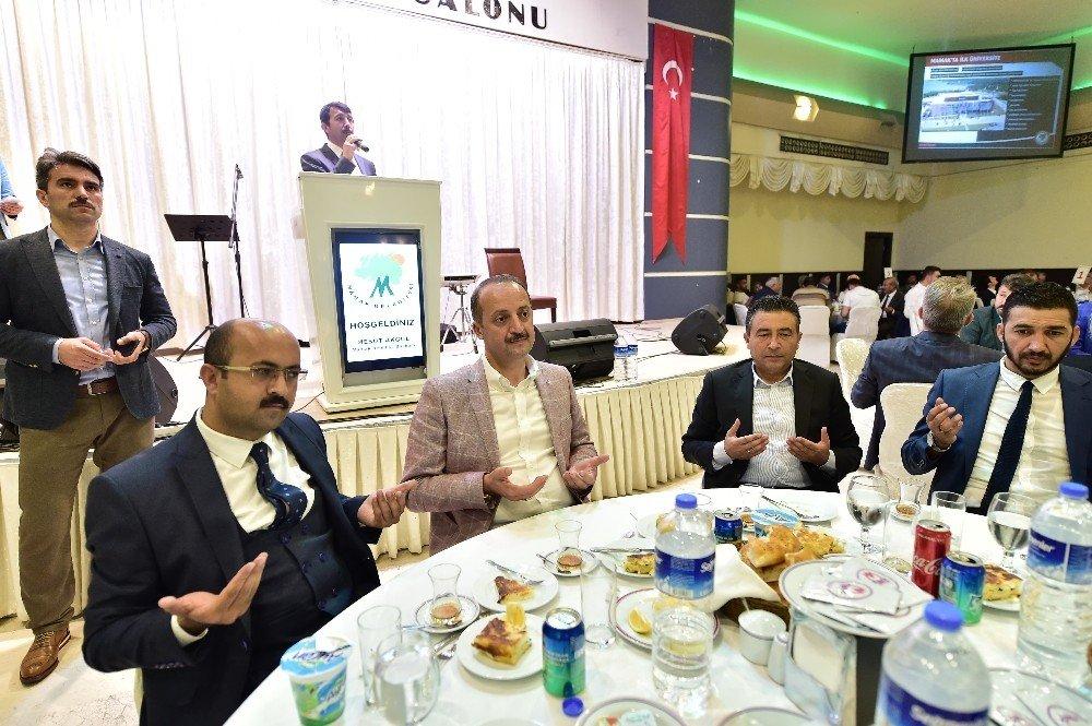 Başkan Akgül'ün iftar programları sürüyor