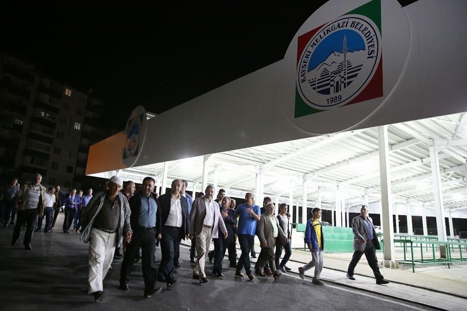 Başkan Büyükkılıç Gökkent sakinleri ile buluştu