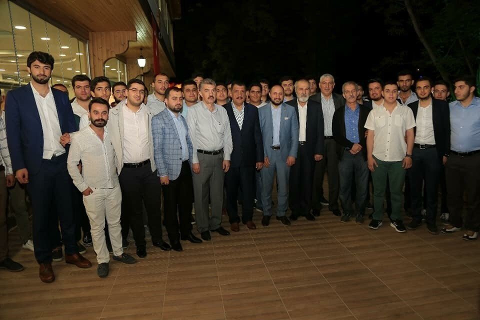 MTBB Genel Başkanı Karayel Malatya'da iftar programına katıldı