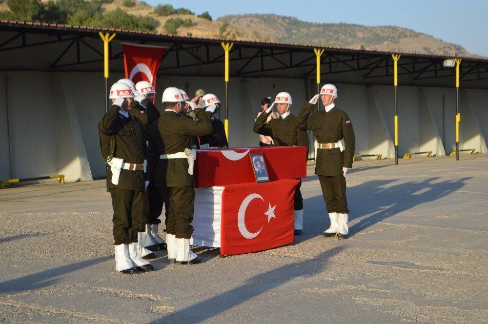 Şehit korucu Beldek için tören düzenlendi