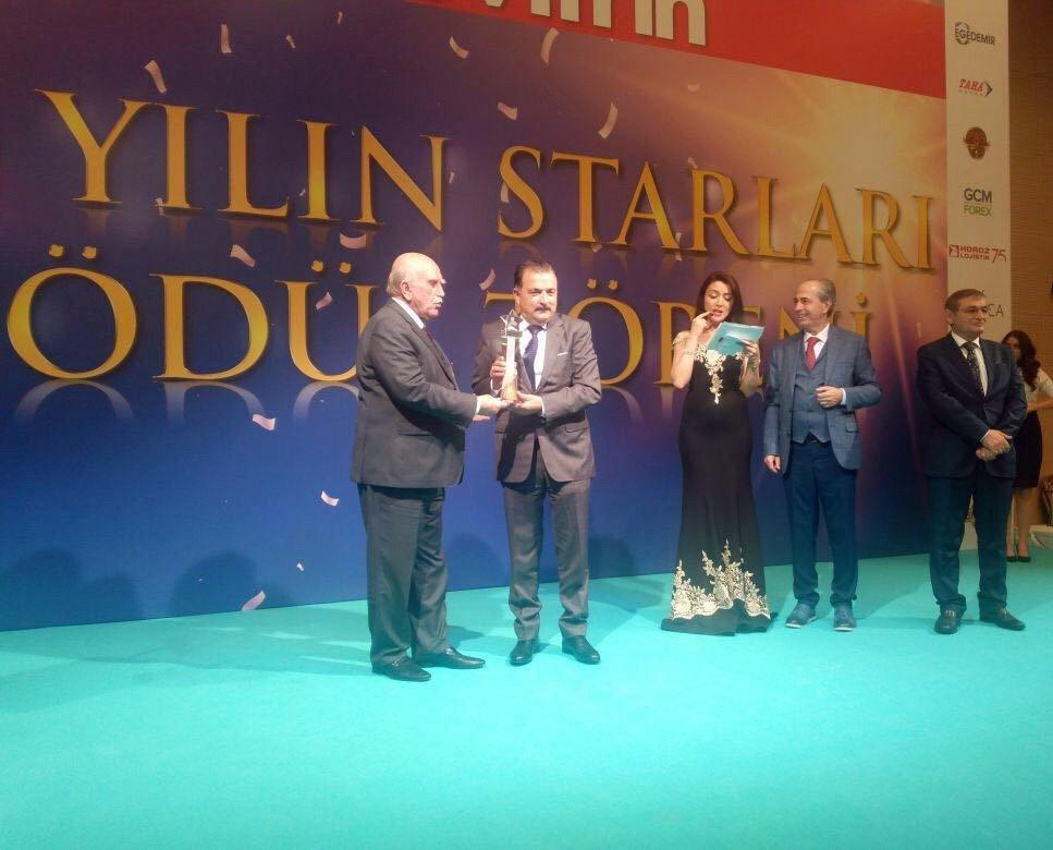 'Avrupa'da Yılın İşadamı Ödülü'nü Turgut Torunoğulları aldı