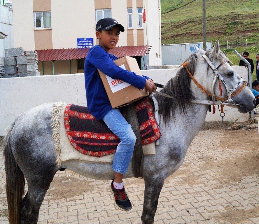 Erciş'teki Kırgızlılar unutulmadı
