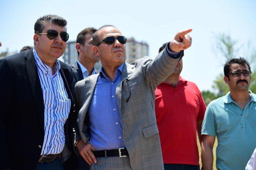 Adana'da drone ile sinek savaşı