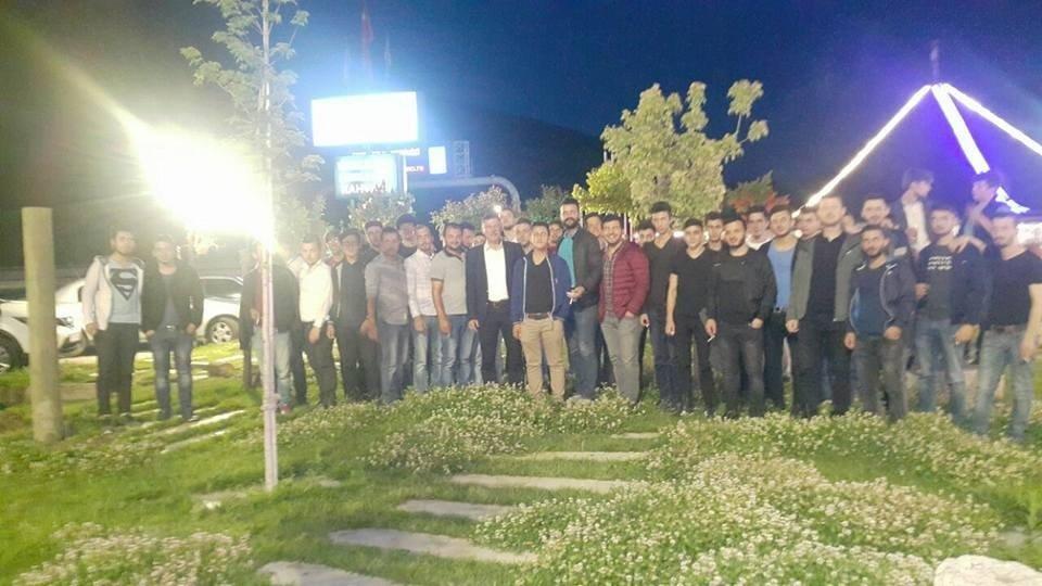 Başkan Duymuş, gençlerle iftar sofrasında buluştu