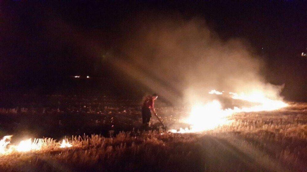 Uyarılara rağmen anız yangınları devam ediyor