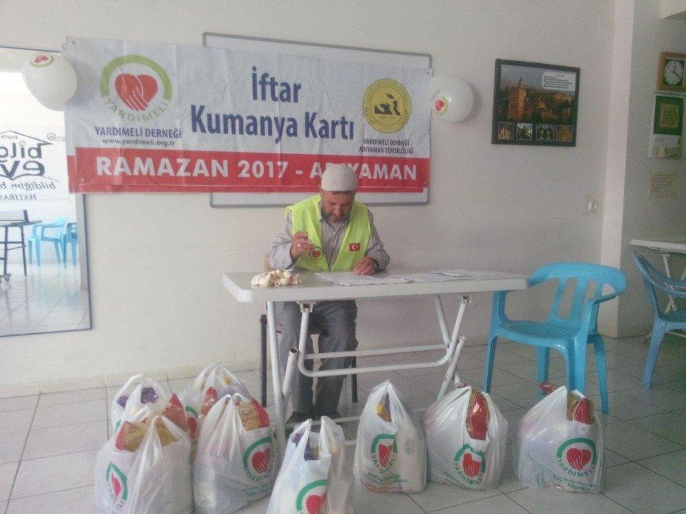 Kahta İkbal-Der'den yetimlere yardım