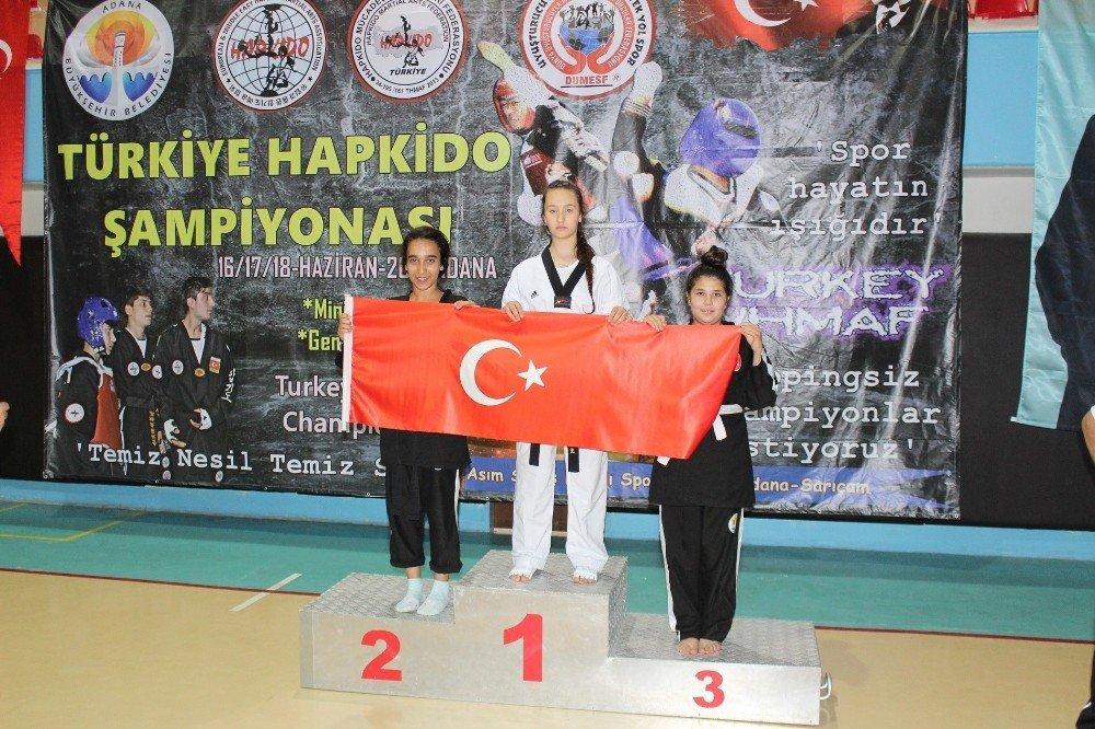 Başbuğ Türkeş Kupası Hapkido Türkiye Şampiyonası Adana'da Yapıldı