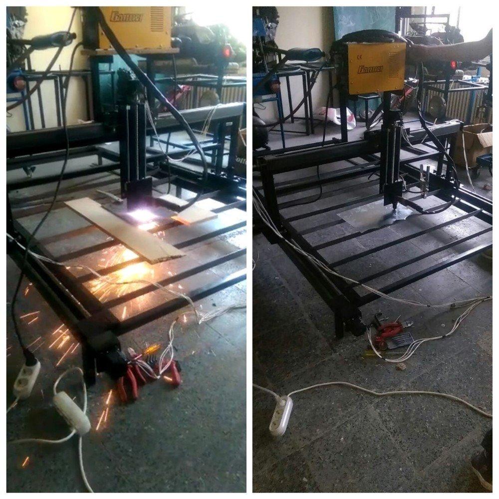 Biga'lı öğrenciler CNC Plazma ve 3 boyutlu yazıcı ürettiler