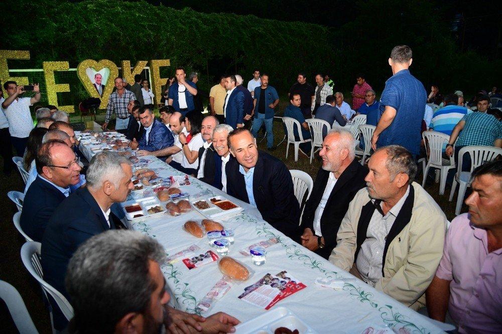 Sözlü, Feke'de iftar sonrası hizmetlerin toplu açılışını gerçekleştirdi