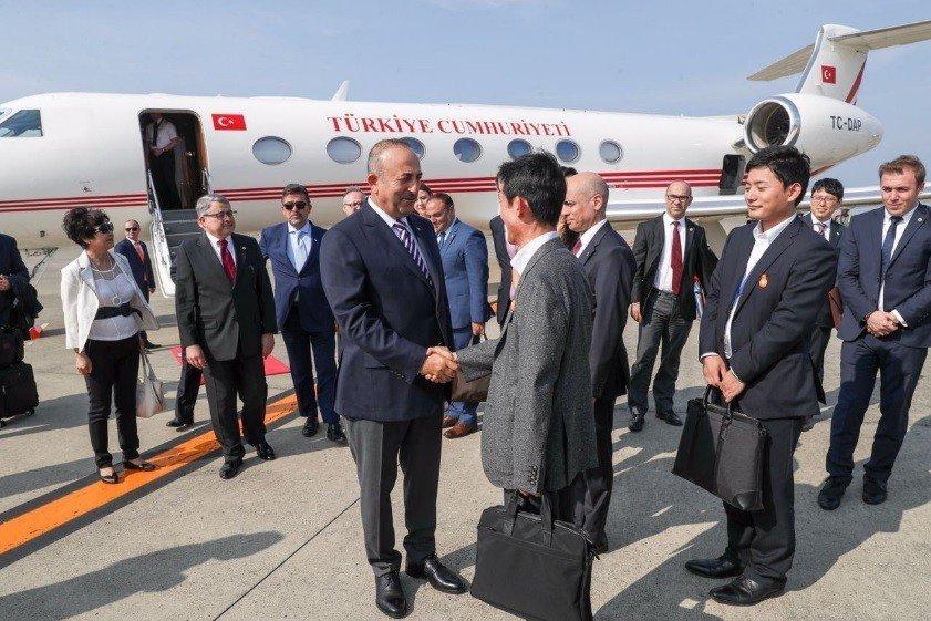 Dışişleri Bakanı Çavuşoğlu Tokyo'da