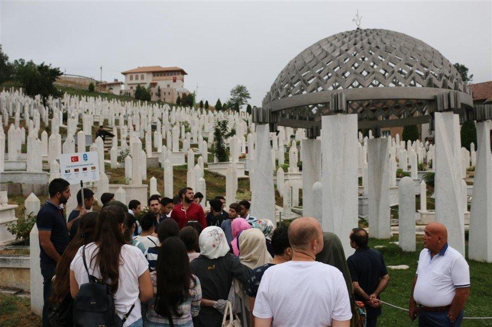 """Başkan Aydın'dan öğrencilere """"Balkan Turu"""""""