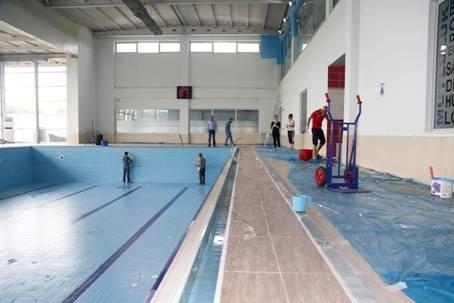 Rauf Denktaş Spor Merkezi yaza hazır