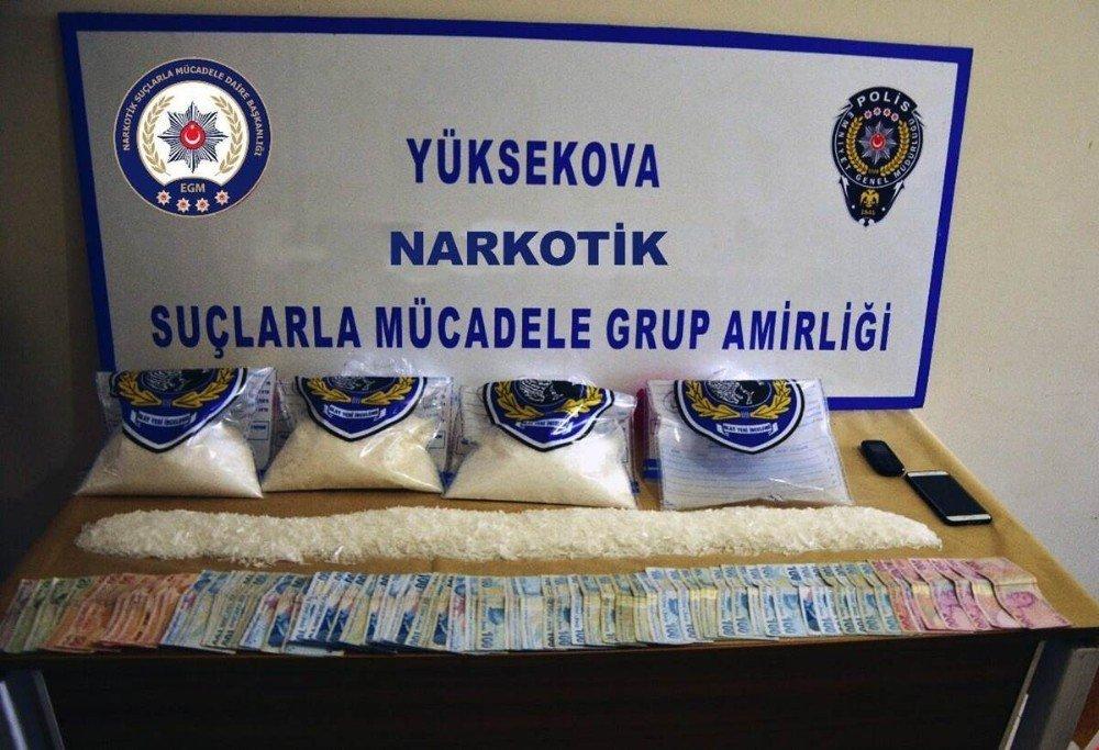 Hakkari'de uyuşturucu operasyonları