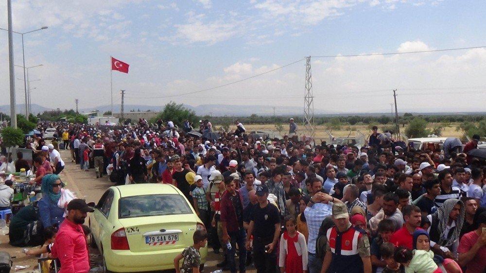 Kilis'teki Suriyeli mülteciler ülkelerine dönmek istiyor