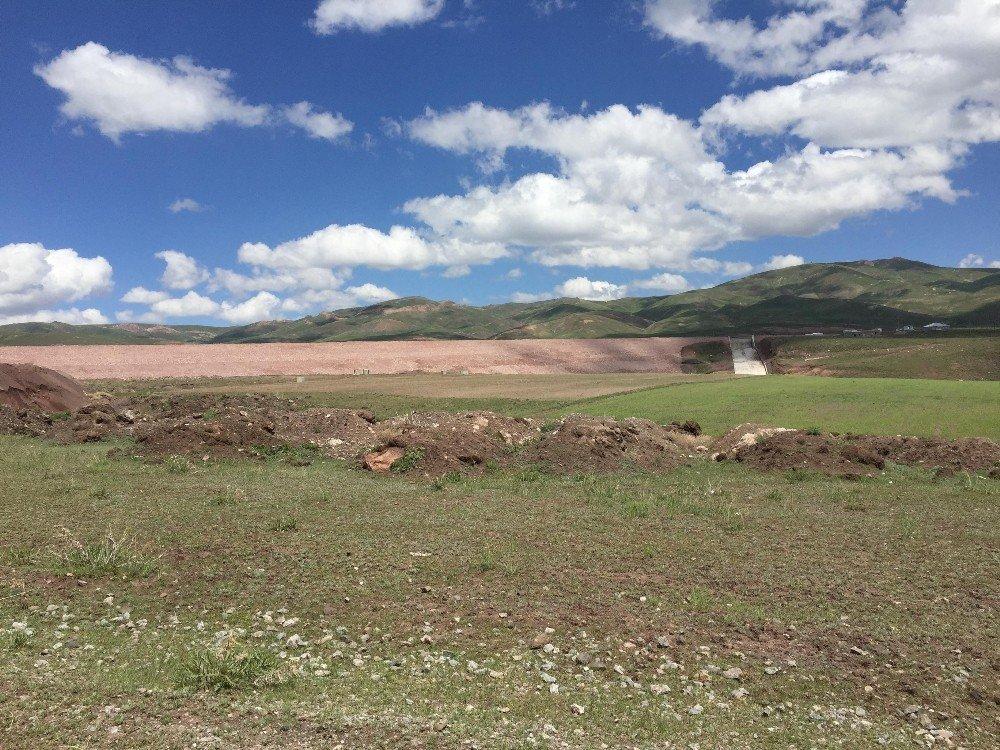 Sırımlı Göleti inşaatında sona geliniyor