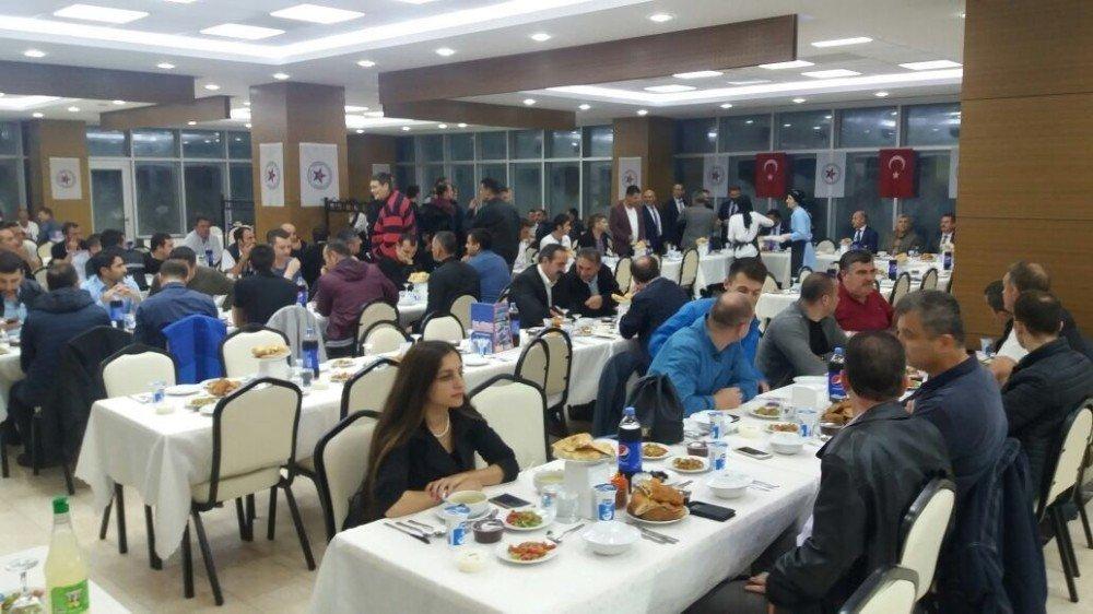 SAÜ güvenliği iftar yemeğinde biraraya geldi