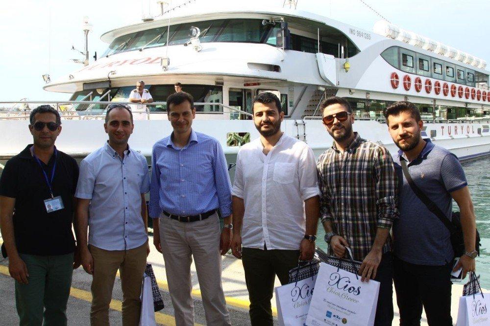 Sakız Adası seferlerine turistlerin ilgisi artıyor